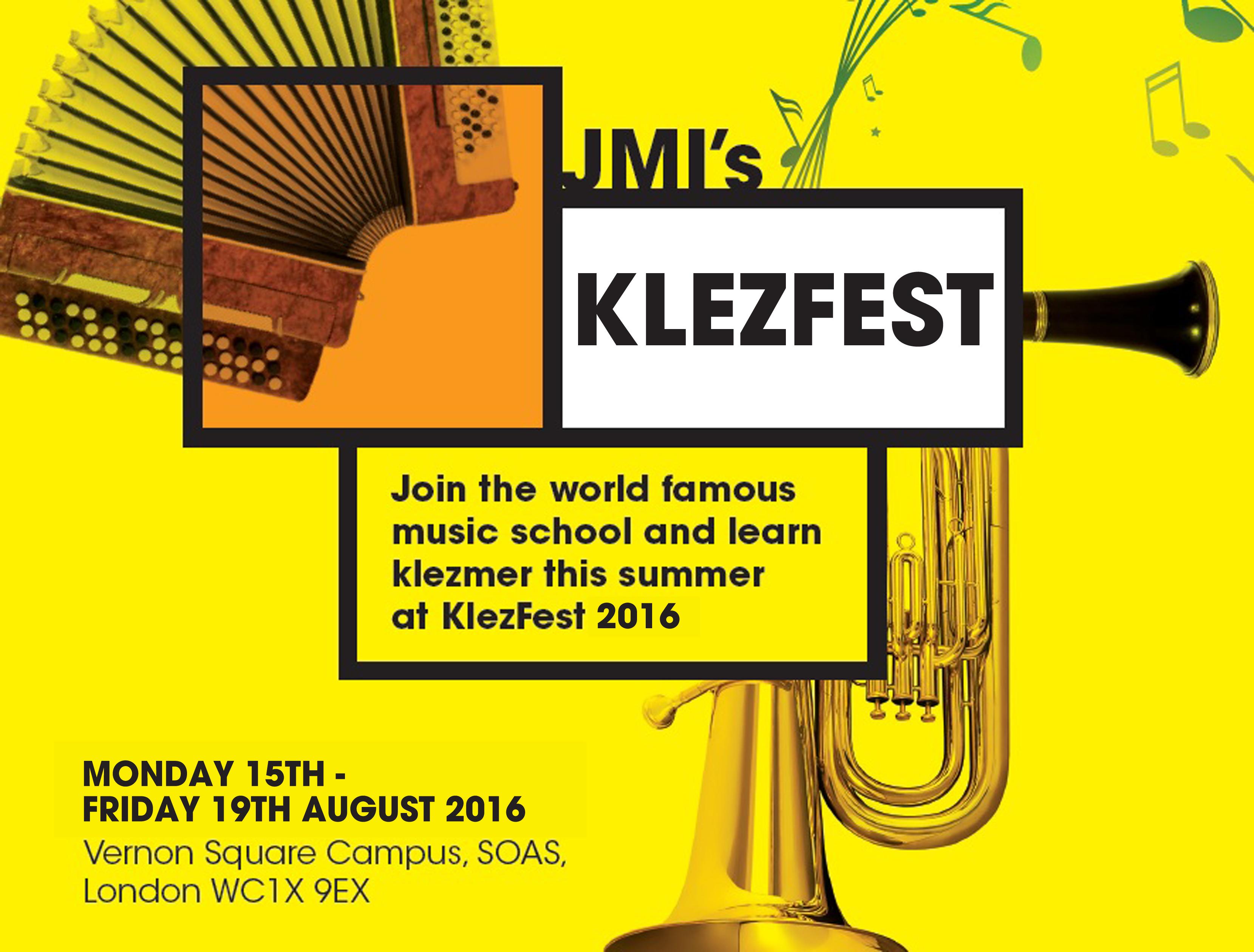 Klezfest 2016