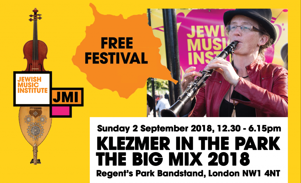 Klezmer in the Park: The Big Mix 2018