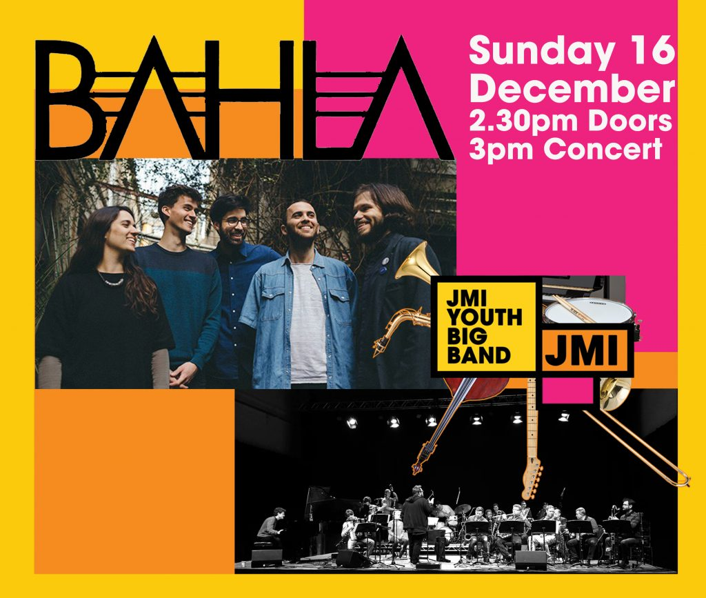 Bahla and The JMI Youth Big Band come to Hertfordshire!