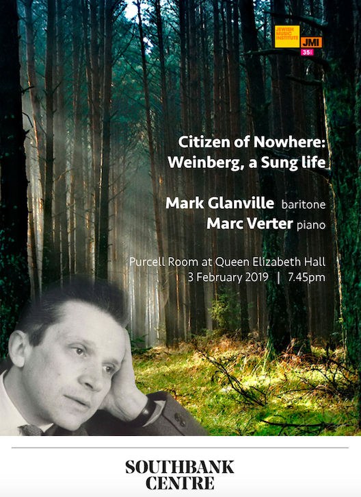 Citizen of Nowhere: Mieczysław Weinberg – A Sung Life