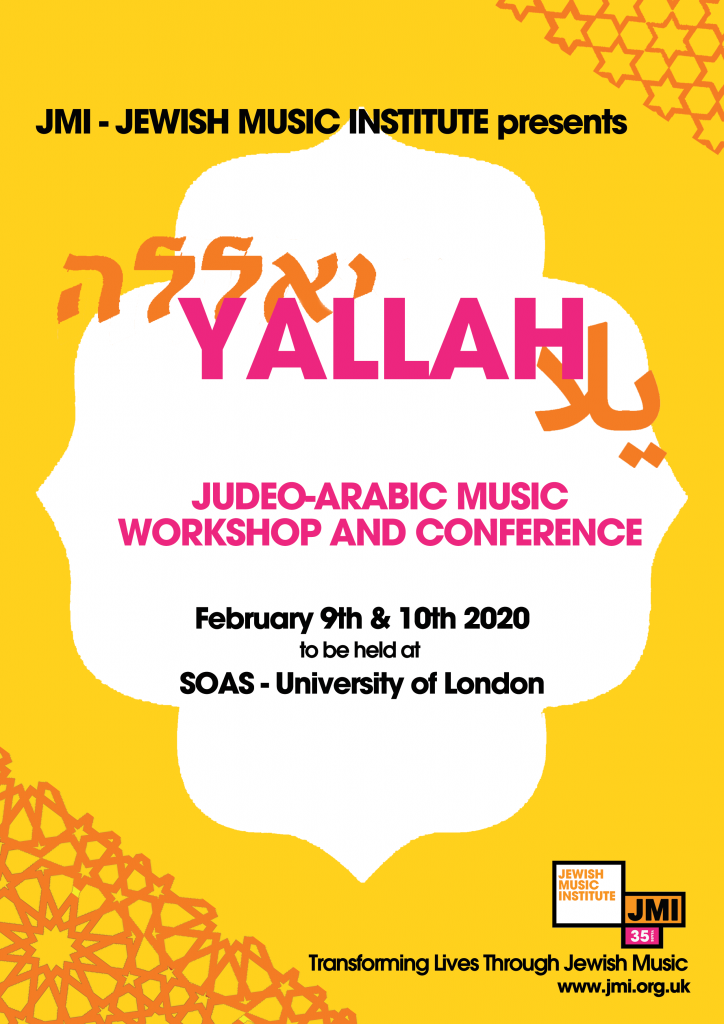 Yallah: Judeo-Arabic Music Workshop and Conference