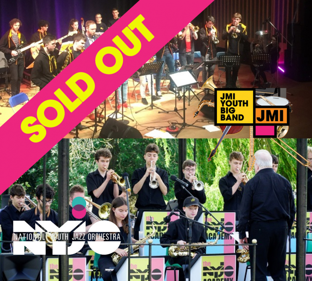 Peer-2-Peer: JMI YOUTH BIG BAND meets NYJO Academy Big Band SOLD OUT