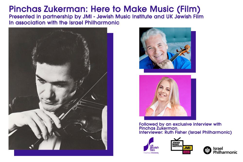 JMI Online: Pinchas Zukerman: Here to Make Music (Film)