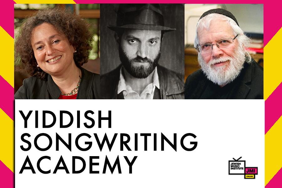 JMI Online: Yiddish Songwriting Academy